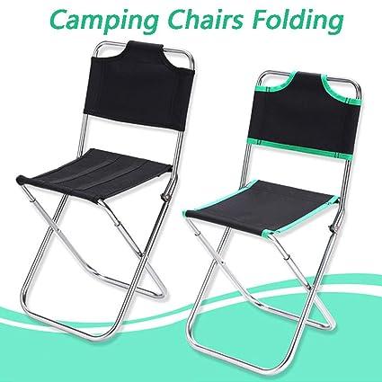 Gaddrt - 1 silla plegable con funda para sillas de camping ...