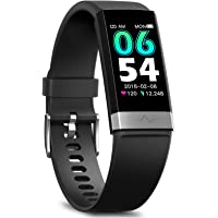 MorePro Fitness Tracker HRV,HD Color Screen Activity Tracker with Heart Rate Blood Pressure,Waterproof Health Watch…