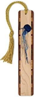 product image for Jellyfish Wooden Bookmark with Tassel