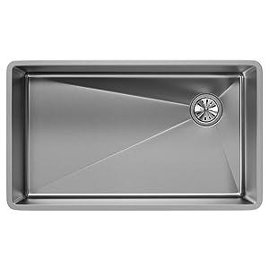 Elkay Crosstown ECTRU30179RT Single Bowl Undermount Stainless Steel Kitchen Sink