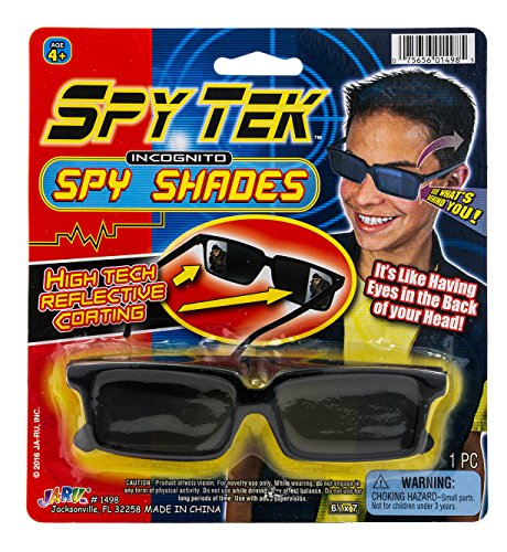JaRu Spy Glasses by 2GoodShop | Spy Gear Pretend Play Secret Agent Reflective Shades for Kids | Item #1498