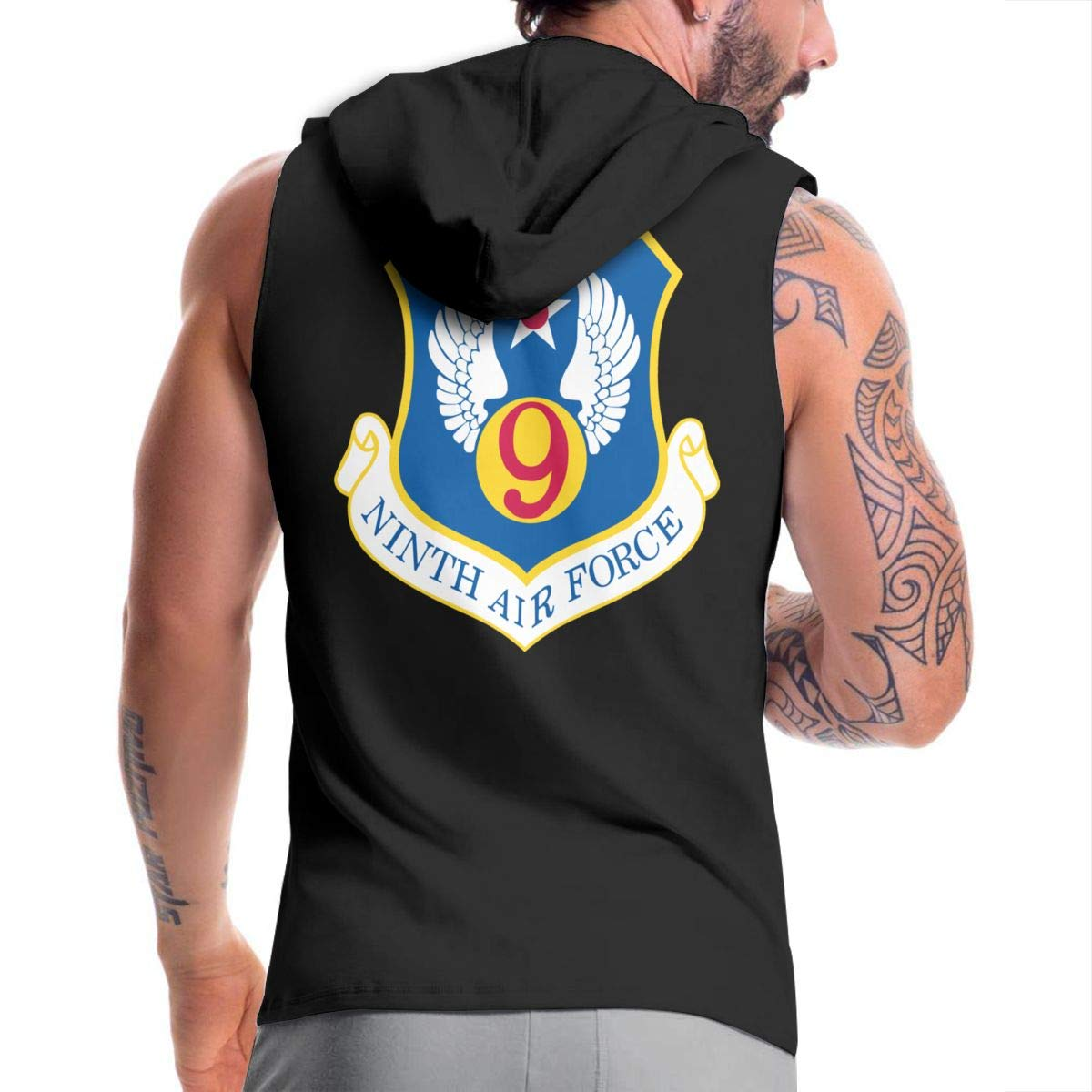NMBOJR Ninth Air Force Mens Hipster Hip Hop Hoodies Shirts