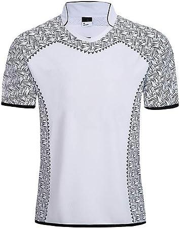 Axdwfd Traje de rugby 2019 Uniforme de la Copa Mundial de Fútbol, camisa de