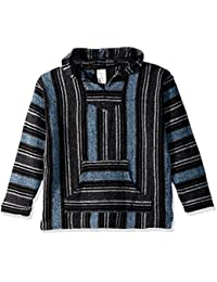 Baja Joe Striped Woven Eco-Friendly Jacket Coat Hoodie