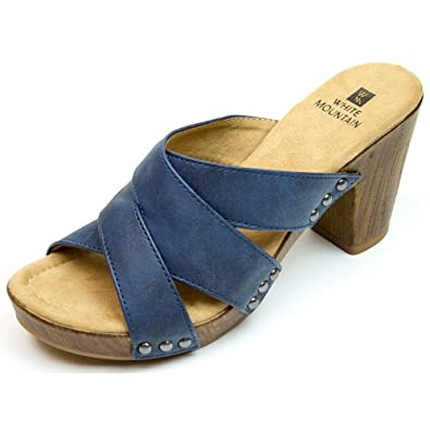 9a13856c58733 WHITE MOUNTAIN Shoes 'Sutton' Women's Heel