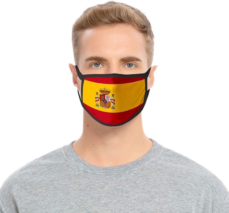 HEFYBA 𝐌𝐚𝐬𝐜𝐚𝐫𝐢𝐥𝐥𝐚 Bandera España para Adultos Y Niños ...