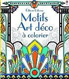 Motifs art déco à colorier