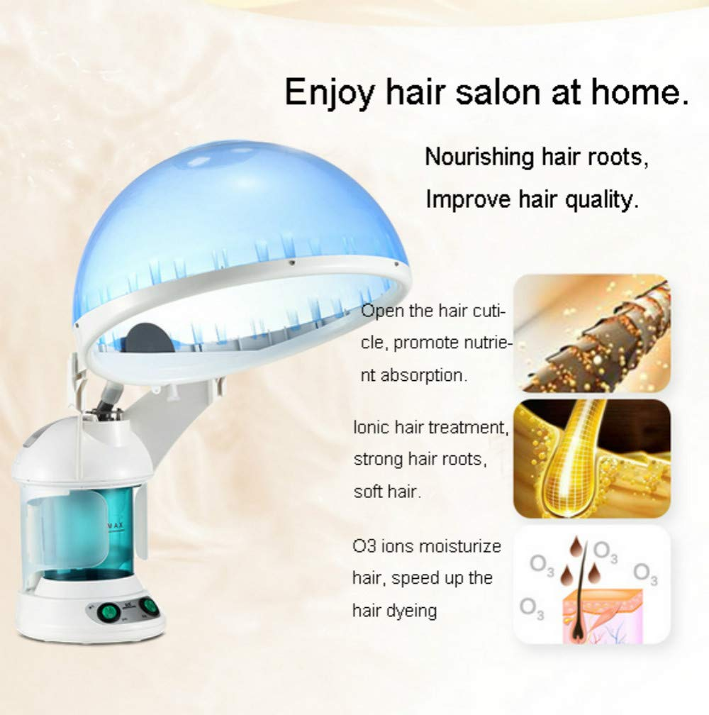 Elitzia Hair Steamer And Facial Steamer 2 In 1 Function Personal Care O3 Ozone Face Steam and Hair Steam Device ETKD2328A