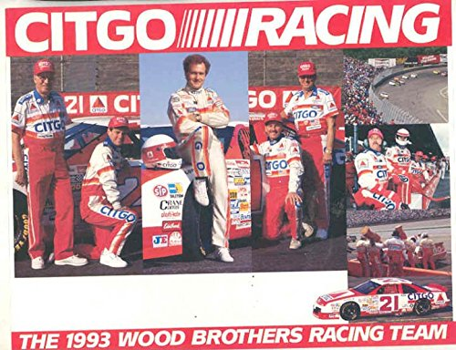 1993 Morgan Shepherd Ford Thunderbird Wood Brother NASCAR Race Hero (Thunderbirds Wood)