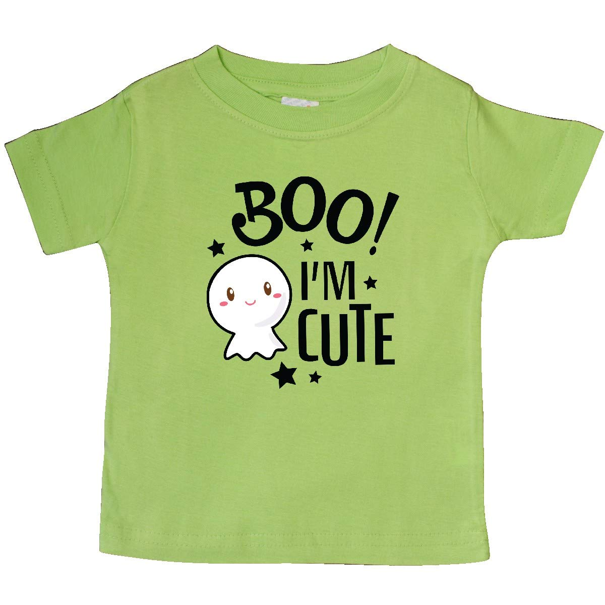 inktastic Boo Im Cute with Ghost Baby T-Shirt
