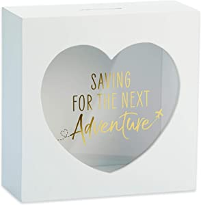 Kate Aspen Adventure Fund Bank, One Size, White