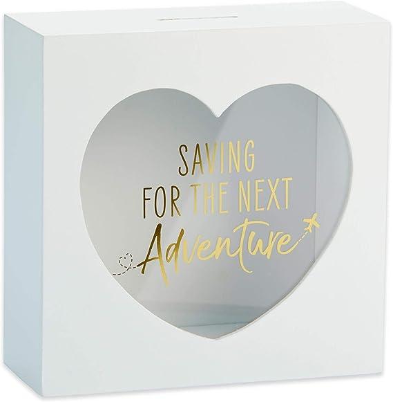 Kate Aspen 22106NA Adventure Fund Bank 1.1399999999999999 pounds One Size White