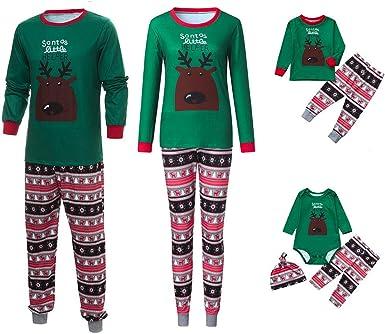 Fossen Kids Pijamas Familiares Navidad Impresión de ...