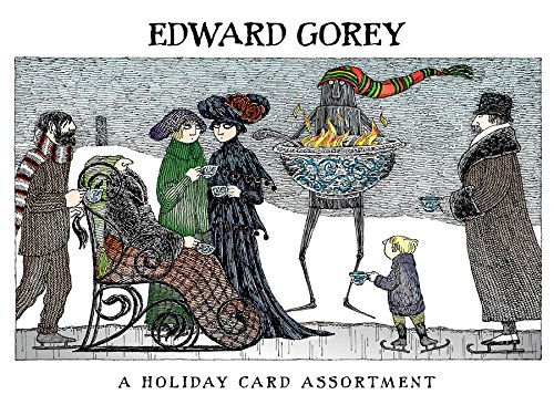 (Pomegranate Seasons Greetings 20ct Holiday Assortment Boxed Cards (Edward Gorey))