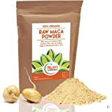 MACA POWDER, RAW, ORGANIC, Premium Vegan Superfood, Promotes Fertility for Men & Women, Balances Hormones, Mood Swings, Menopause, Boosts Energy, Improves Stamina, Reduces Stress & Anxiety - 250g