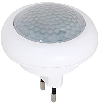 Led Nachtlicht Mit Bewegungsmelder Fur Steckdose Lampe Notlicht 2