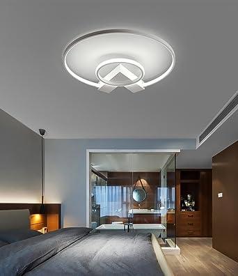 Deckenstrahler Wohnzimmer | Henley Led Deckenleuchte Modern 38w Led Lampen Zwei Ring