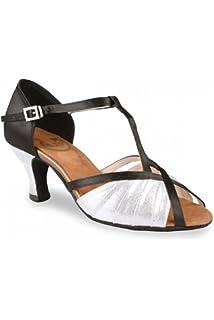 523a64415f3 RoTate Amy Ladies Ballroom Shoes 6.5 Flesh  Amazon.co.uk  Sports ...
