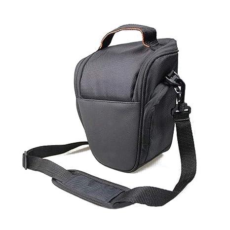 Qiulip - Bolsa de Transporte para cámara Digital Nikon D5200 y ...