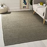 Safavieh Southampton Collection SHA243C Handmade Grey Polyester Area Rug, 5 feet by 7 feet 6 inches (5' x 7'6'')