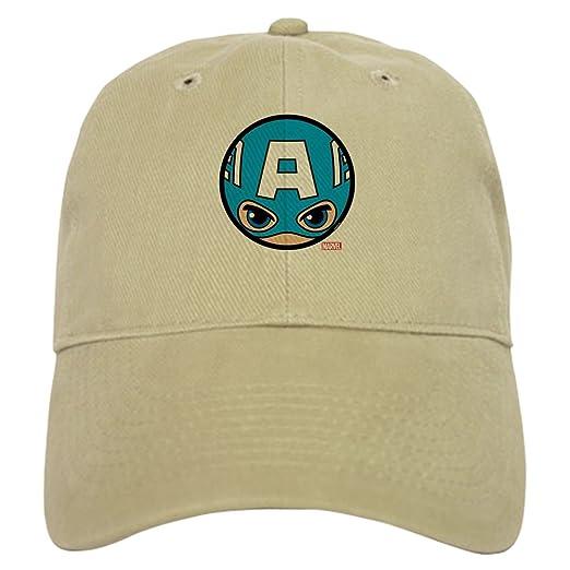 Amazon com: CafePress Captain America Icon Baseball Cap with