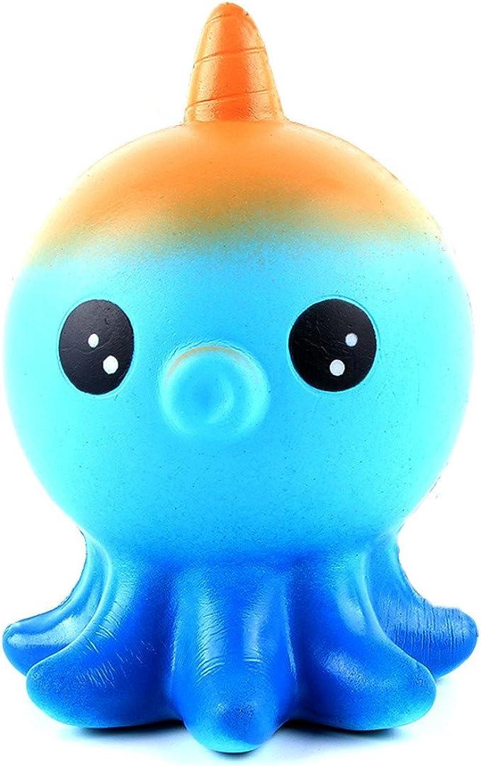 MISSWongg_Juguetes antiestrés Stress Relief Squeeze Toy,MISSWongg Kawaii Pulpo Novedad Juguetes Perfumada Juguetes Juguetes de compresión Lenta: Amazon.es: Ropa y accesorios