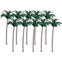 20pcs Paisaje arboles Modelo De Coco Playa 10cm