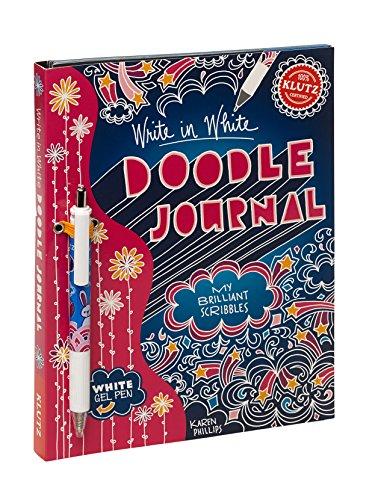 Write White Doodle Journal Brilliant