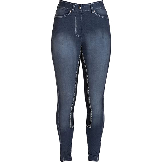 HyPerformance Denim Look Ladies Riding Breeches 6sauLlX