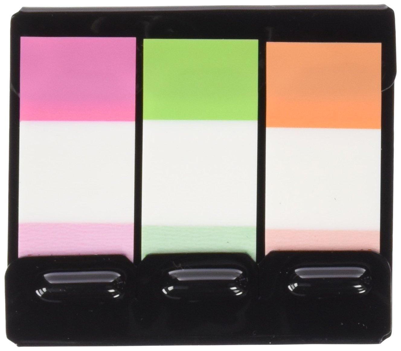 Plus Office Paper In Film Index - Dispensadores 20 banderitas, 3 colores neón Makro Paper SP.SL 45605