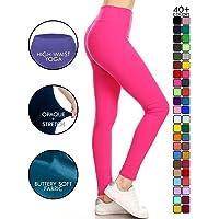 f4301b9d1263 Leggings Depot High Waisted Leggings -Soft & Slim - 37+ Colors & 1000+