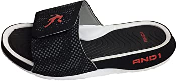 AND1 Enigma 2.0 Mens Athletic Slippers, Adjustable Width