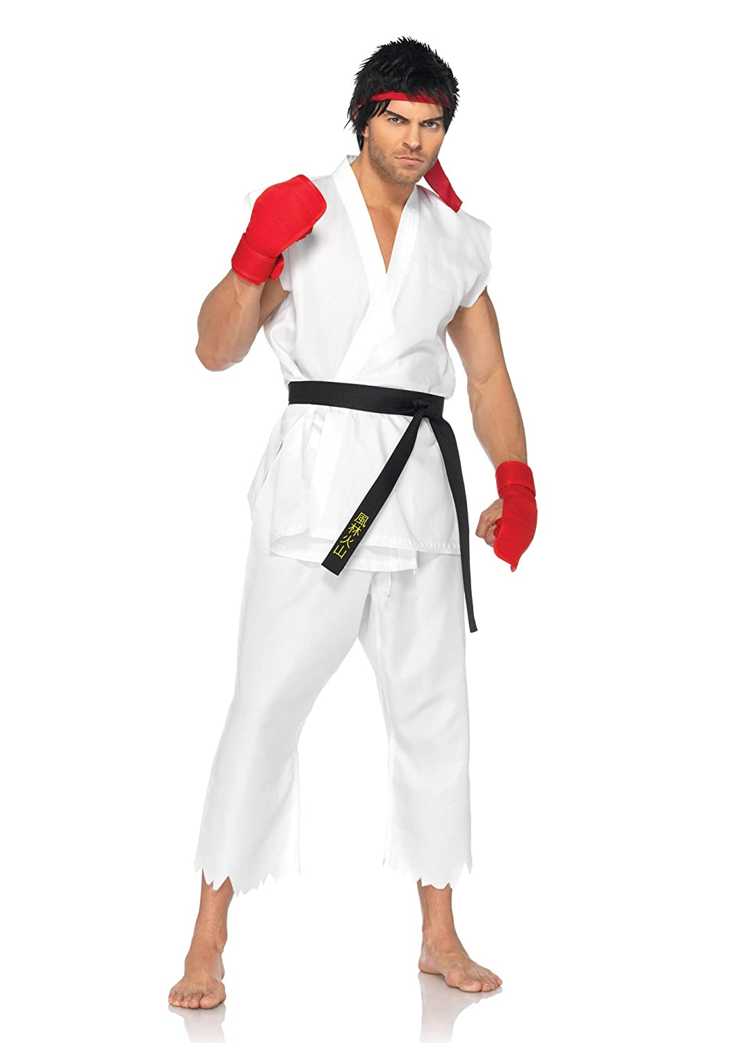Ryu from Street Fighter Video Game Costume for Cosplay