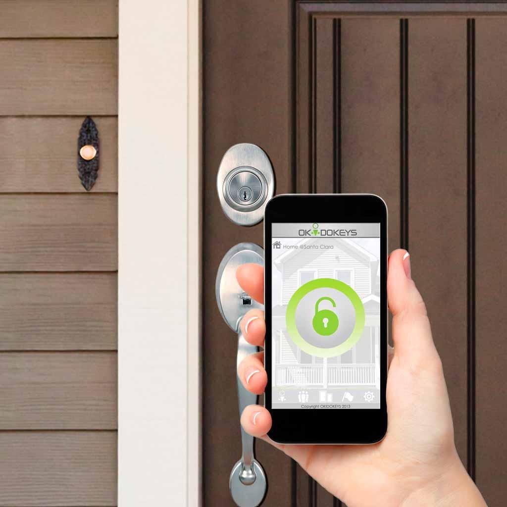 Okidokeys Trend Smart Lock Bluetooth 4 0 Enabled Smart