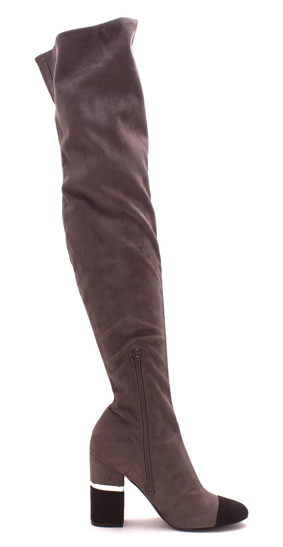 Marc Fisher Frauen Frauen Frauen patel3 Cap Toe Wildleder Fashion Stiefel Grau/Multi c1a61f