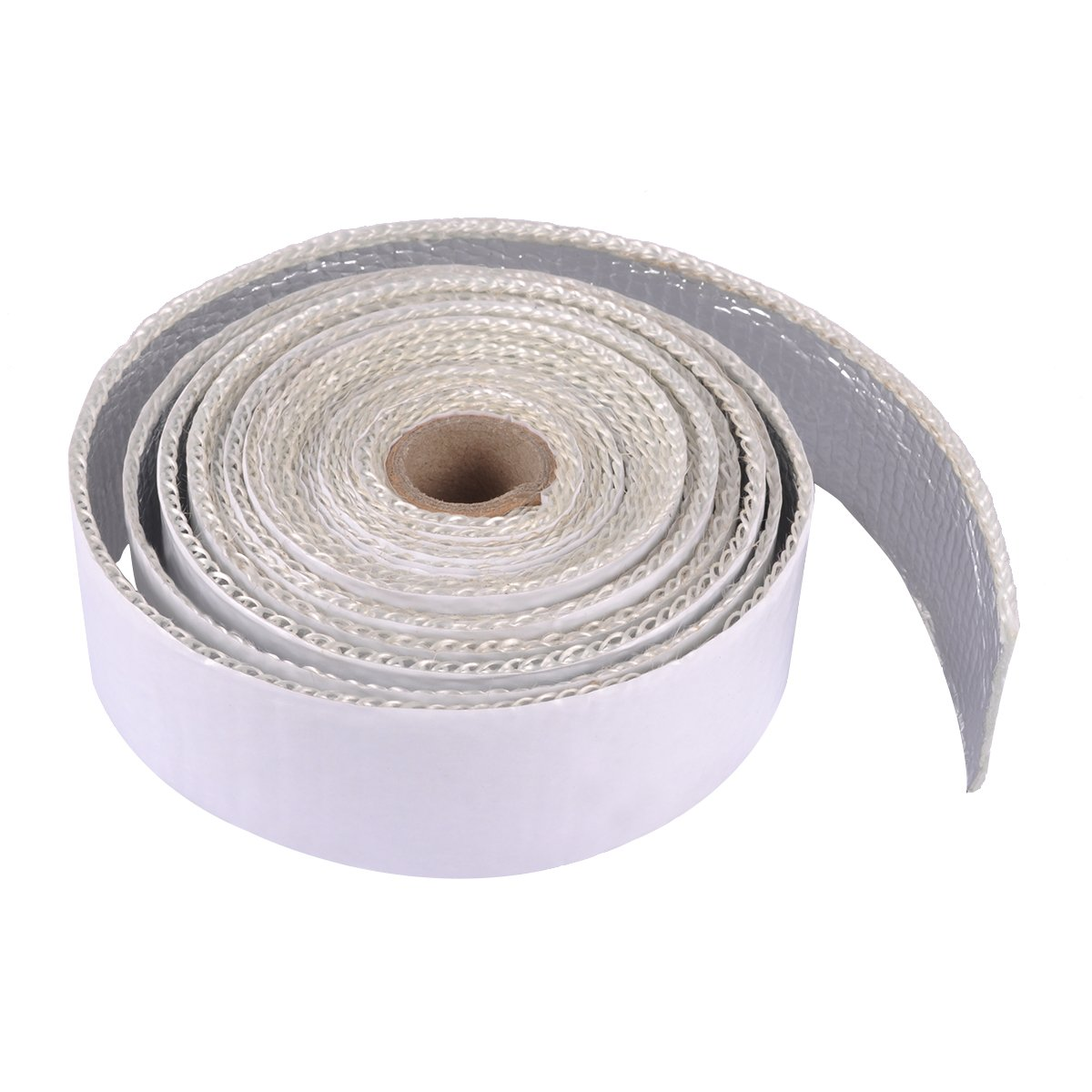 AutoEC Heat Shield Tape, Self-Adhesive Heat Reflective Tape Roll, Adhesive Backed Heat Barrier for Car, Truck, Motorcycle (1.5''X 15')