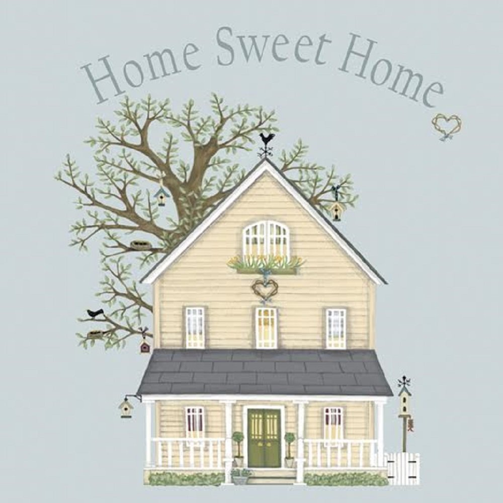 Sally swannell home sweet home moving house new home greetings sally swannell home sweet home moving house new home greetings card amazon kitchen home kristyandbryce Image collections