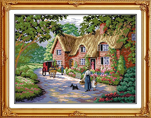 Benway Counted Cross Stitch Cottage Living 14 Count 48x38cm