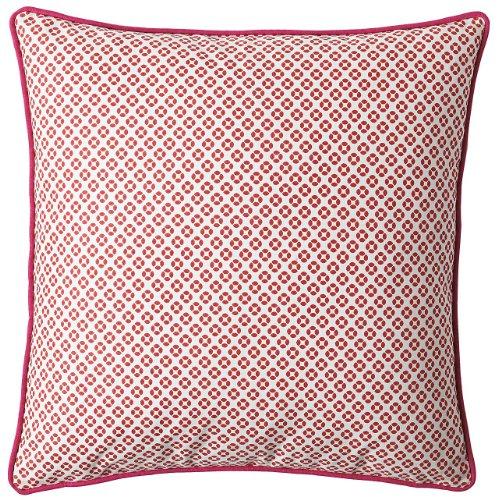 Serena & Lily Cut Circle Dec Pillow Cover- Coral
