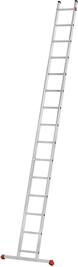 Hailo S60 ProfiStep uno - Escalera de Mano (6 peldaños, Resistente a la Intemperie y no Requiere Mantenimiento, soporta hasta 150 kg), 7112-007: Amazon.es: Bricolaje y herramientas