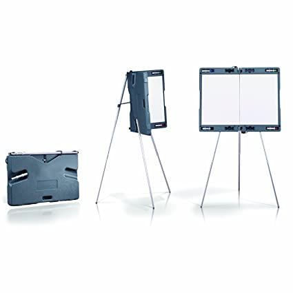 amazon com ghent attivo presentation easel w built in whiteboard