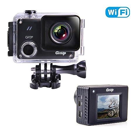 gitup GIT2P Cámara de acción 2880P HD Video 16 MP Fotos Impermeable WiFi 170 ° Gran Angular Cámara Deportiva con Estabilización de Imagen Electrónica