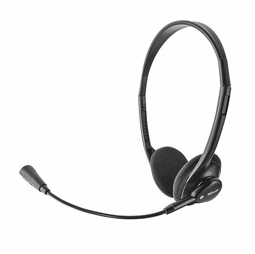 82 opinioni per Trust Primo Cuffie Stereo, Leggere, Microfono Flessibile, Nero