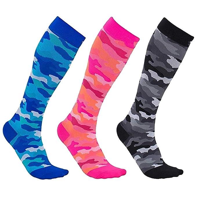 laamei Calcetines de compresión para Hombres y Mujeres: los ...