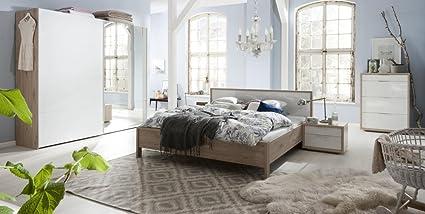 Camera Da Letto Rovere Bianco : Camera da letto matrimoniale componibile completa color rovere