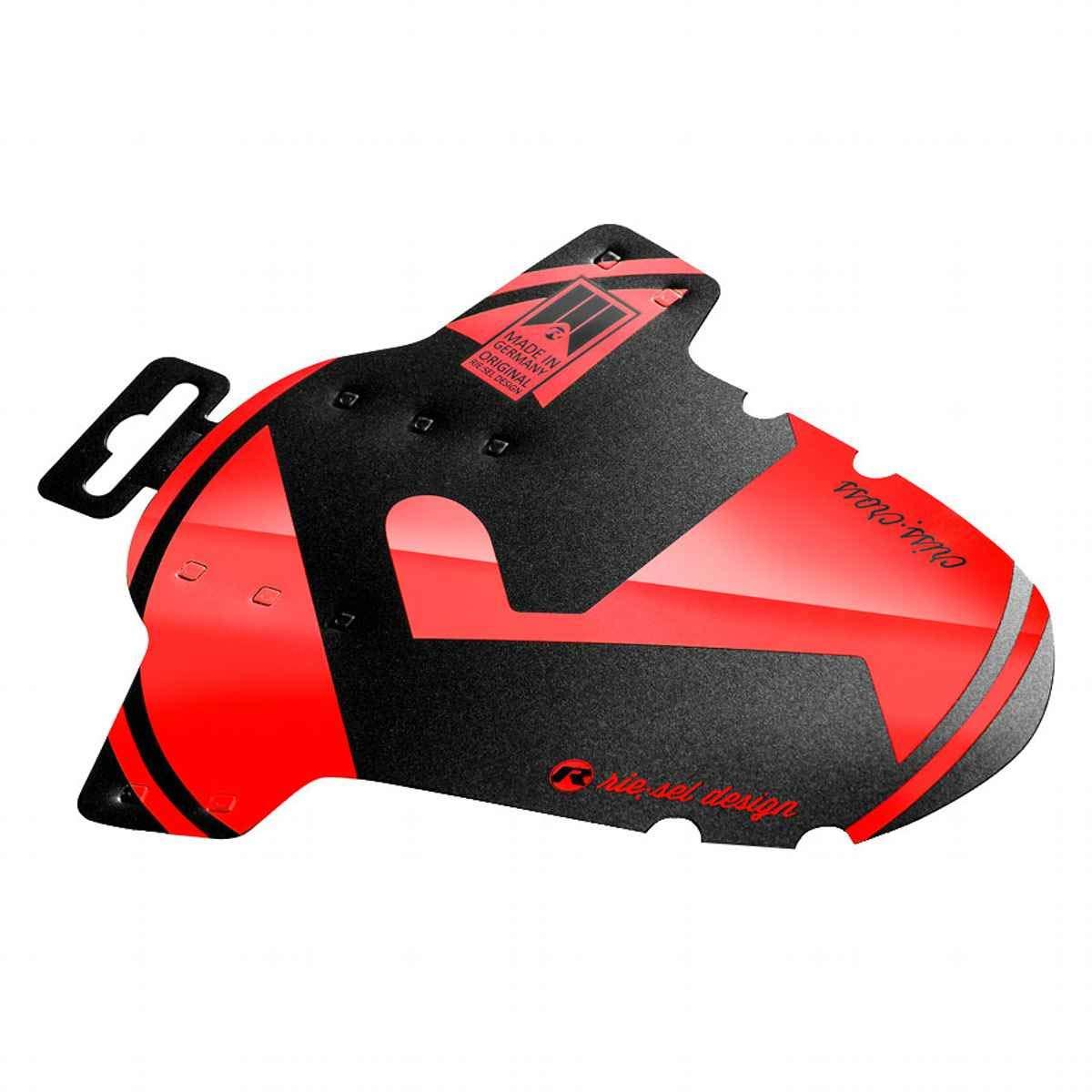Garde-boue modèle Criss:Cross Riesel Design, garde-boue avant cyclocross VTC 4 attaches de câble + 2 décalcomanies-2018 4260403944271