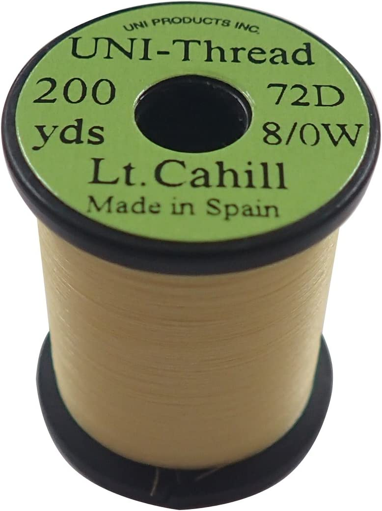 Lt Fly Tying Uni-Thread 8//0-200 yd Cahill
