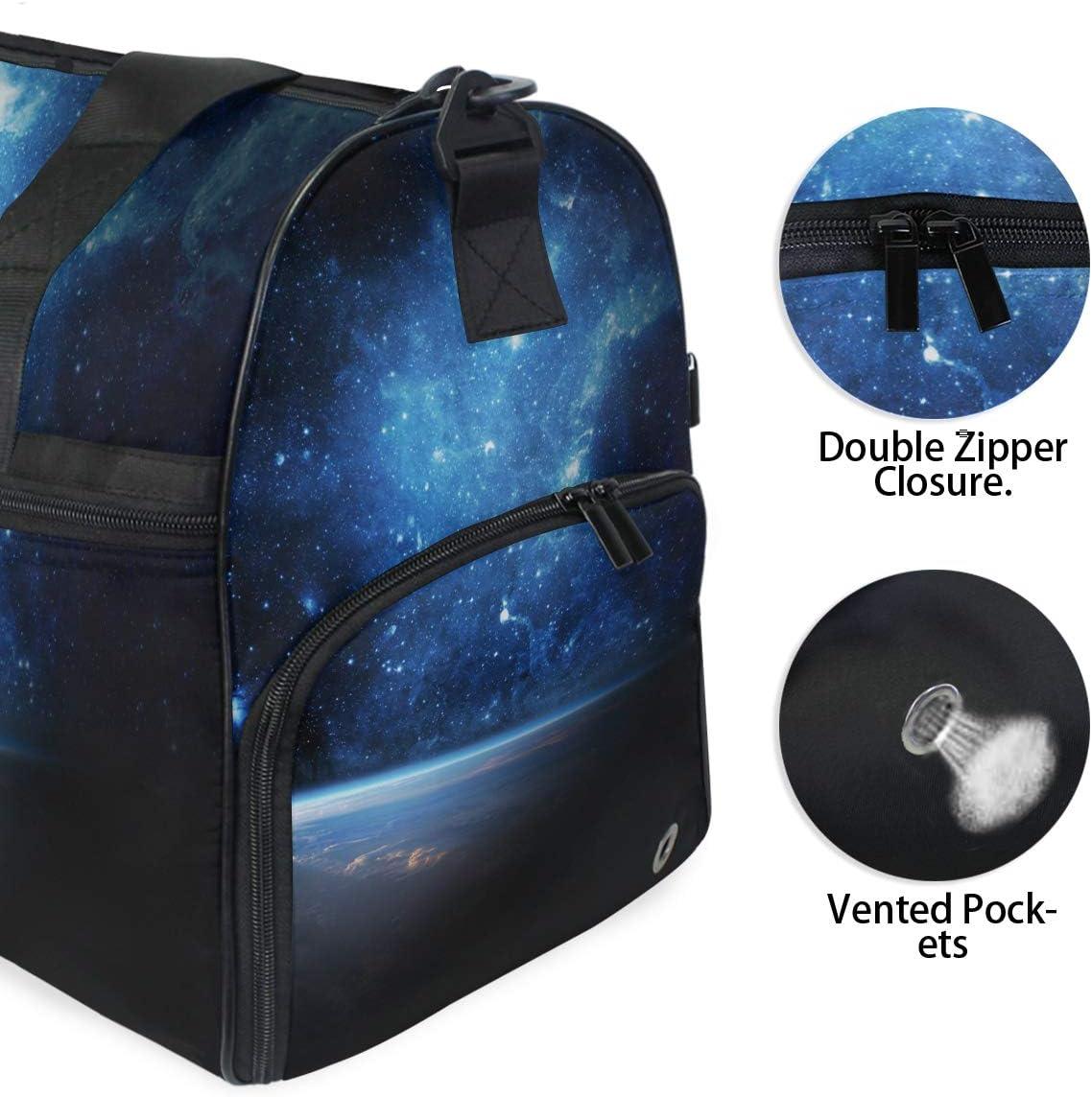 FAJRO Duffle Bag for Women Men Star Sky Travel Duffel Bag Large Size Water-proof Tear Resistant