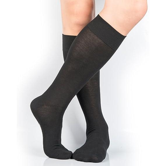0cb6f552e94 Amazon.com  3 Pairs Men s Knee-High Dress Socks  Clothing