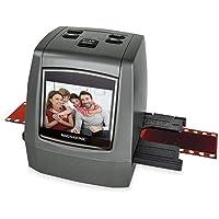 Magnasonic All-In-One High Resolution 22MP Film Scanner Converts 126KPK/135/110/Super 8 Films Slides Negatives into…